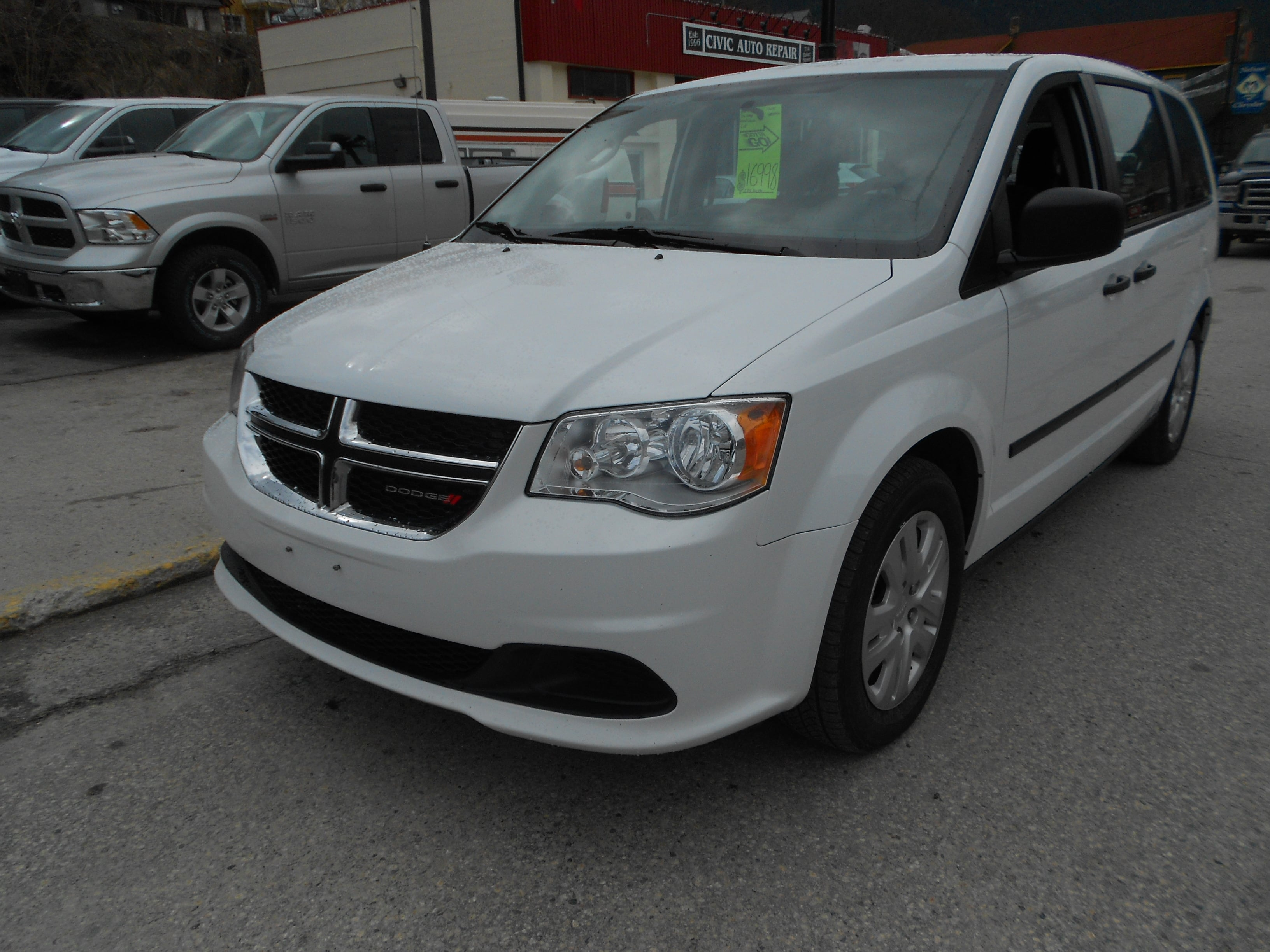 2016 Dodge Grand Caravan CVP Minivan