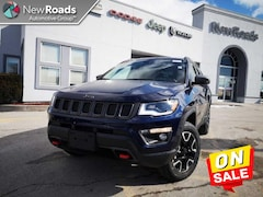 2020 Jeep Compass Trailhawk - Navigation -  Uconnect SUV