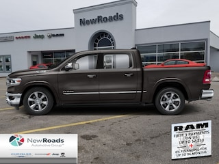 2020 Ram 1500 Limited - Leather Seats -  Cooled Seats - $411 B/W Cabine Crew