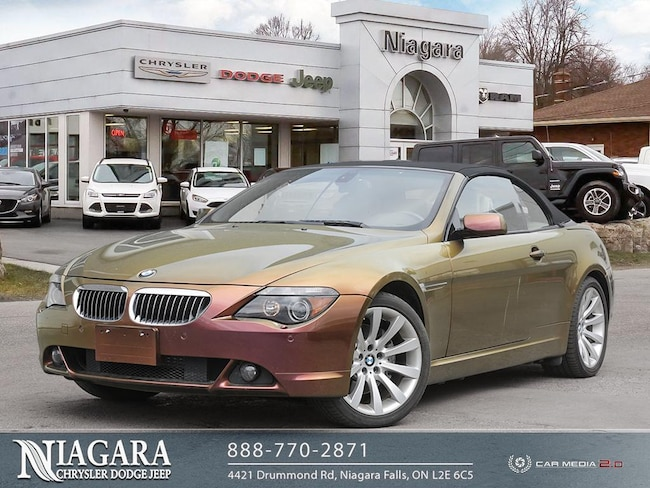 2006 BMW 650 Custom Paint   NEW Roof Cabriolet