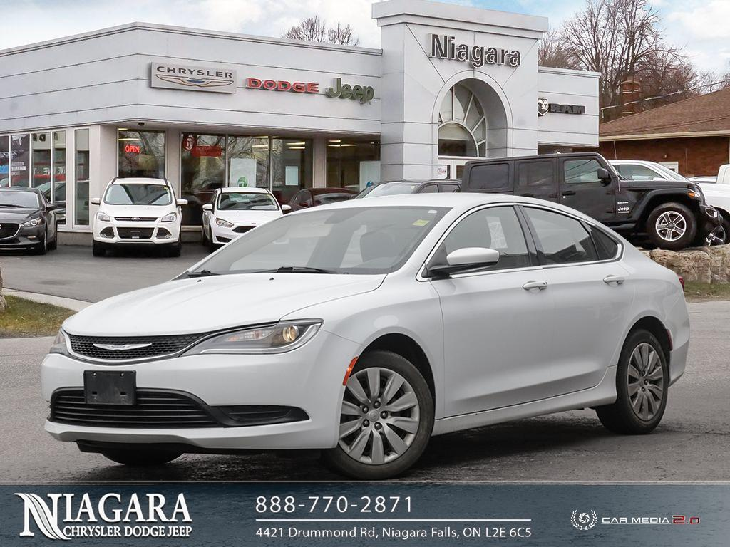 2016 Chrysler 200 Great Fuel Economy Sedan