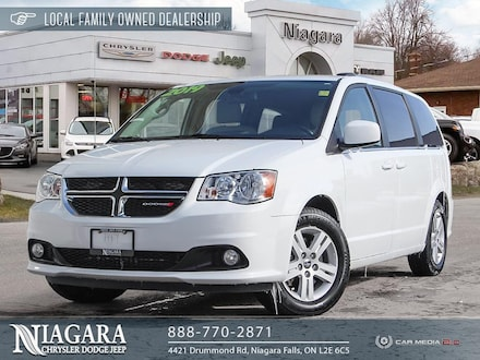 2019 Dodge Grand Caravan Crew | POWER DOORS AND TAILGATE Minivan/Van