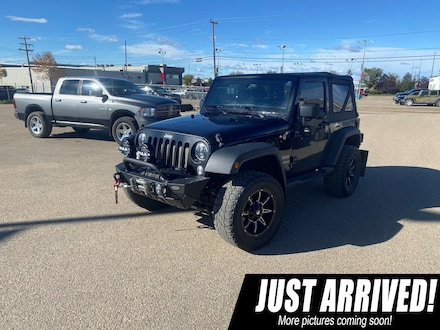 2017 Jeep Wrangler Sport , ONE Owner, NON Smoking, Trail Rated SUV