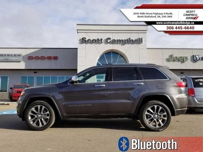 2018 Jeep Grand Cherokee Limited *NAV / Remote / Full Load* SUV