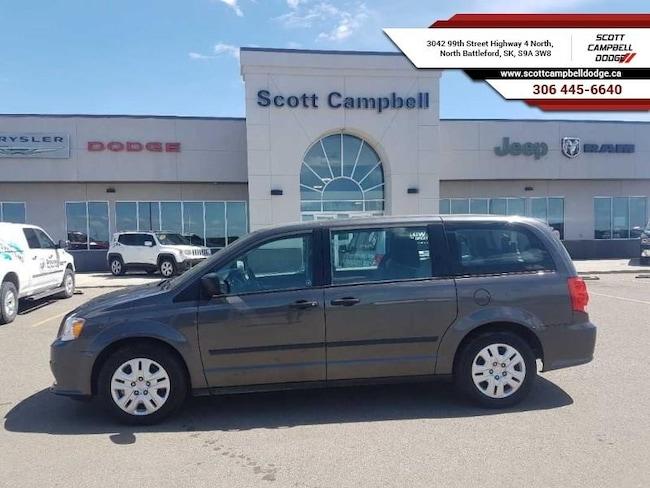 2016 Dodge Grand Caravan Canada Value Package Minivan/Van