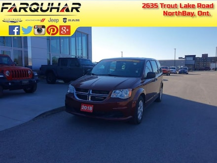 2018 Dodge Grand Caravan Canada Value Package - $138 B/W Van