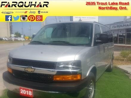 2018 Chevrolet Express Passenger LT - Onstar - $226 B/W Van