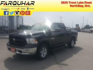 2016 Ram 1500 Outdoorsman -  - Power Locks - Power Mirrors - $20 Extended/Double Cab