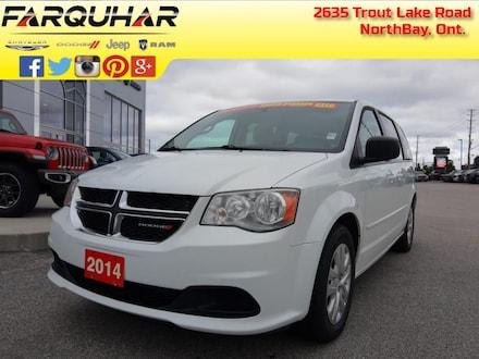 2014 Dodge Grand Caravan SXT - Climate Group - $124 B/W Van