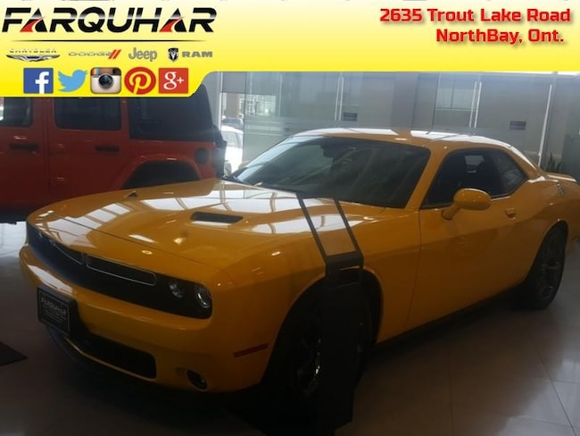 2018 Dodge Challenger SXT Plus - $240.47 B/W Coupe