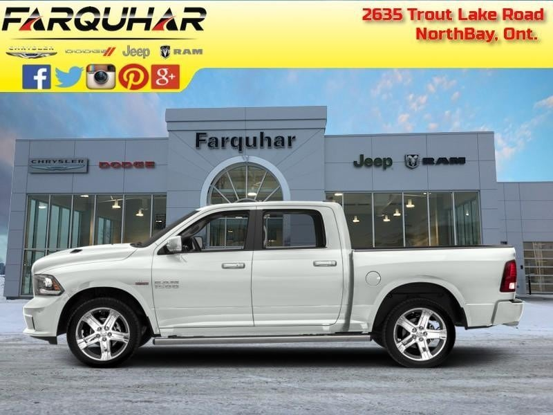 2018 Ram 1500 Sport - Sunroof - Leather Seats Crew Cab