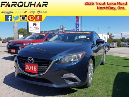 2015 Mazda Mazda3 GX - Bluetooth - $91 B/W Berline