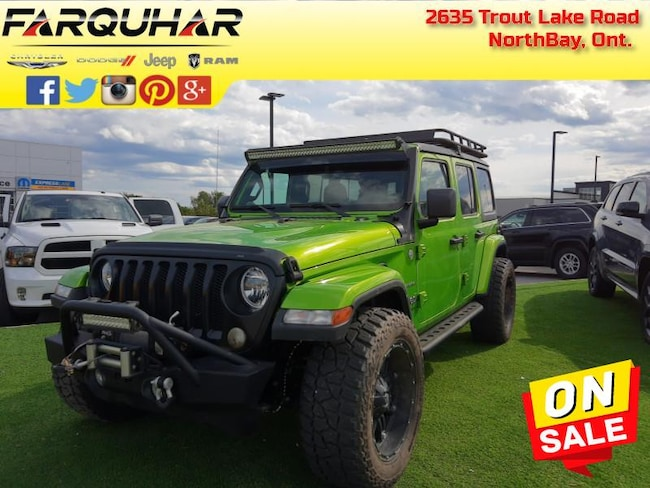 2018 Jeep Wrangler Unlimited Sahara - $320 B/W SUV