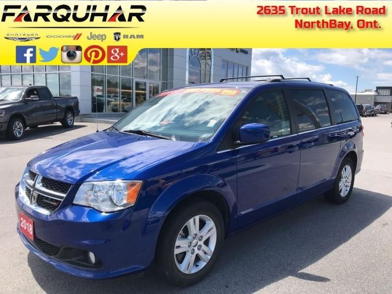 2018 Dodge Grand Caravan Crew Plus - $160 B/W Van