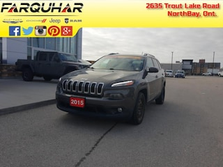 2015 Jeep Cherokee North - Back Up Camera - Heated Seats - $132 B/W SUV