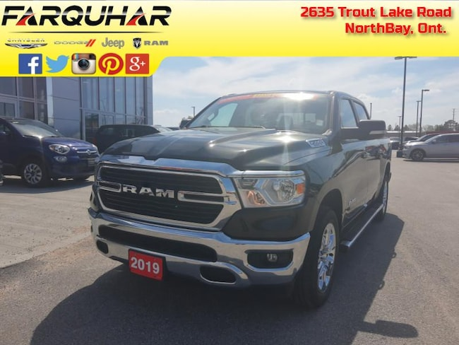 2019 Ram 1500 Big Horn - Big Horn -  Remote Start - $215 B/W