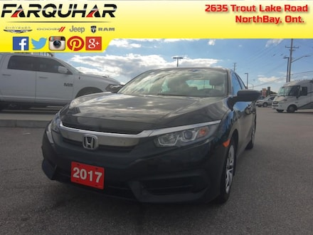 2017 Honda Civic Sedan LX - A/C -  Bluetooth - $107 B/W Sedan