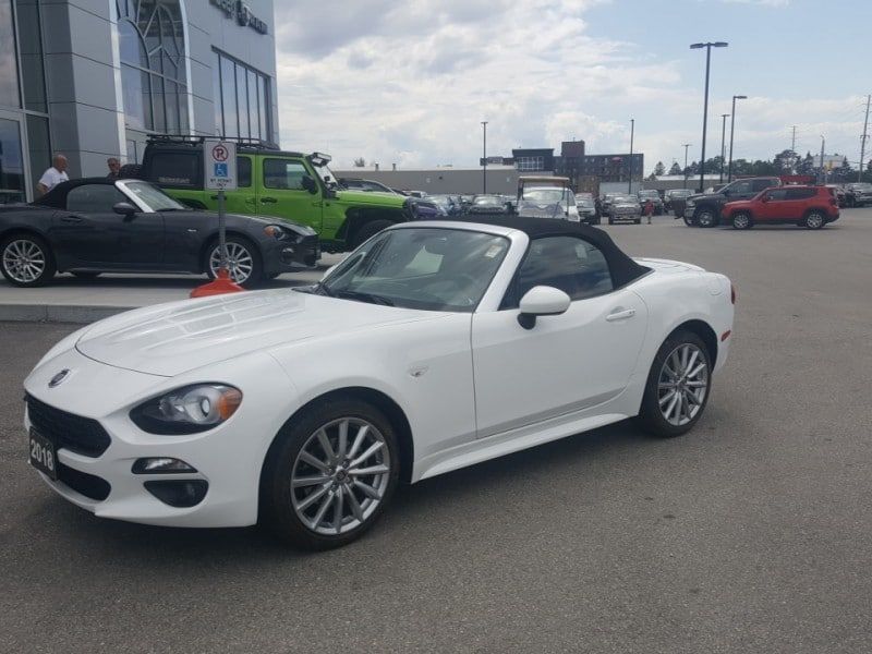 2018 FIAT 124 Spider Lusso -  Heated Seats -  Bluetooth - $168 B/W Convertible