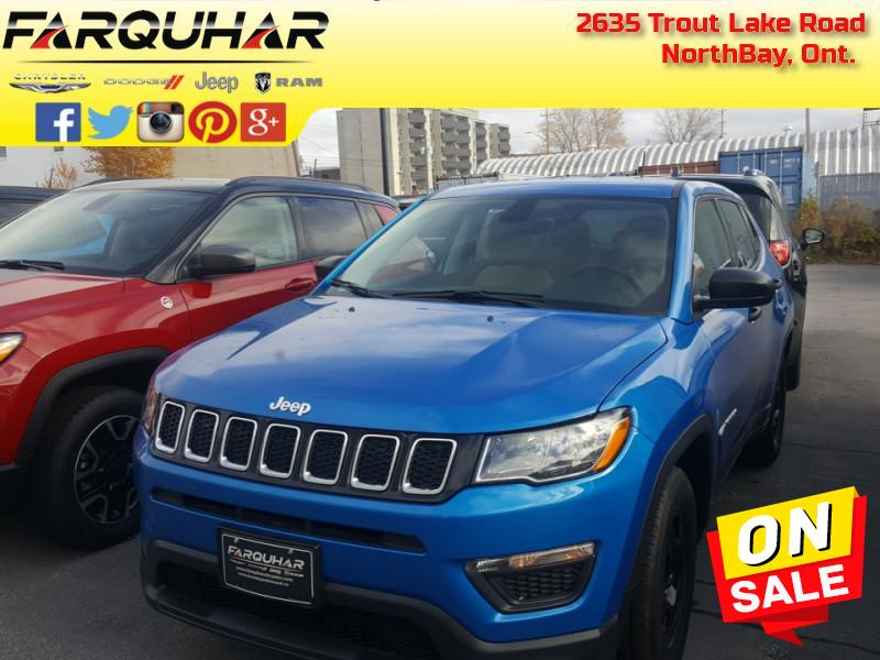 2018 Jeep Compass Sport - $131 B/W - Low Mileage SUV