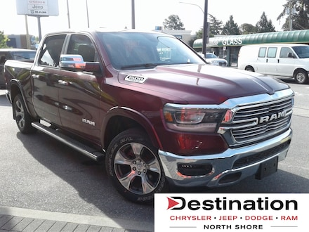 2019 Ram 1500 Laramie.  NEW Vehicle FOR PRE-Owned Pricing!!! Truck Crew Cab