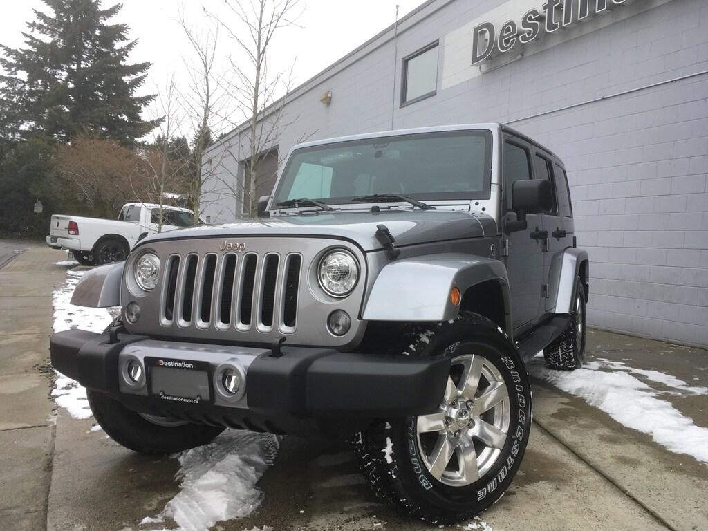 2018 Jeep Wrangler Unlimited Sahara Save $10,000! SUV