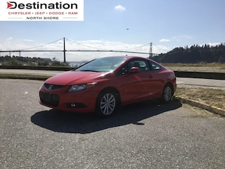 2012 Honda Civic EX-L (A5). Very LOW KMS!!! Local & 1 Owner!!! Coupe
