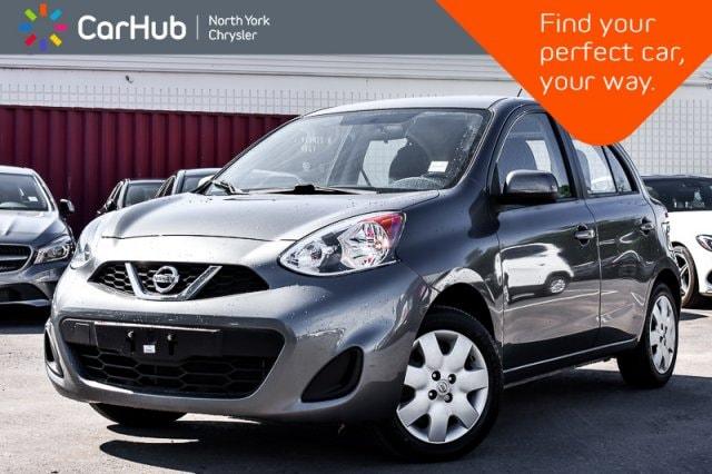 Used 2016 Nissan Micra SV|Manual|AM/FM.Radio|Voice.Command|Keyless.Entry| Sedan in Bolton, ON