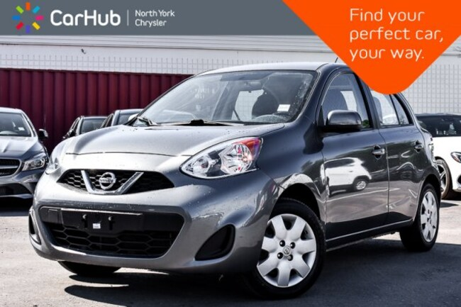 2016 Nissan Micra SV|Manual|AM/FM.Radio|Voice.Command|Keyless.Entry| Sedan