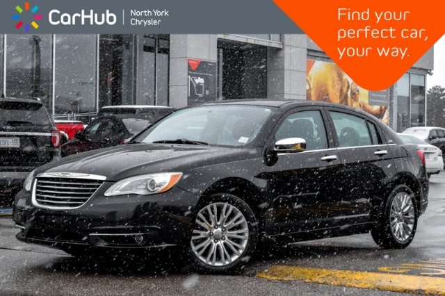 Used 2013 Chrysler 200 Limited|Remote_Start|Sunroof|Heated_Front_Seats|Si Sedan in Bolton, ON