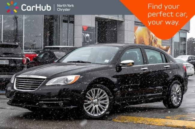2013 Chrysler 200 Limited.Remote Start.Sunroof.Heated Front Seats.Si Sedan
