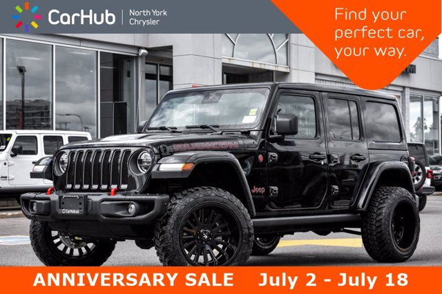 2020 Jeep Wrangler Unlimited Rubicon 4x4 Blind Spot Adapt Cruise Remote Start H SUV