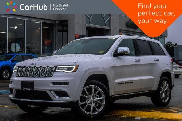New 2019 Jeep Grand Cherokee New Car Summit 4x4|BrakeAsst|SatRadio|20Alloys SUV in Bolton, ON