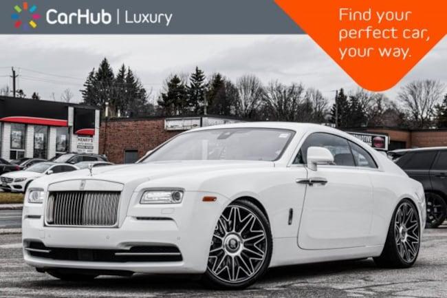 2016 Rolls-Royce Wraith Starlight_Headliner|Suicide_Doors|Keyless_Go|Navig Coupe