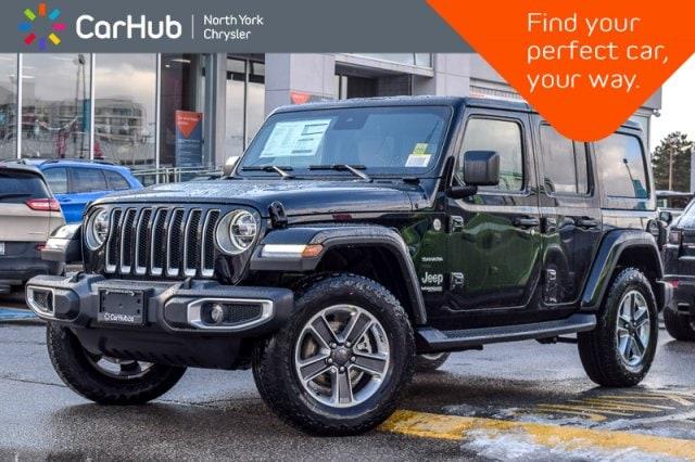 New 2019 Jeep Wrangler Unlimited New Car Sahara JL DualTop,AdvSafety,Nav&SoundPkgs SUV in Bolton, ON