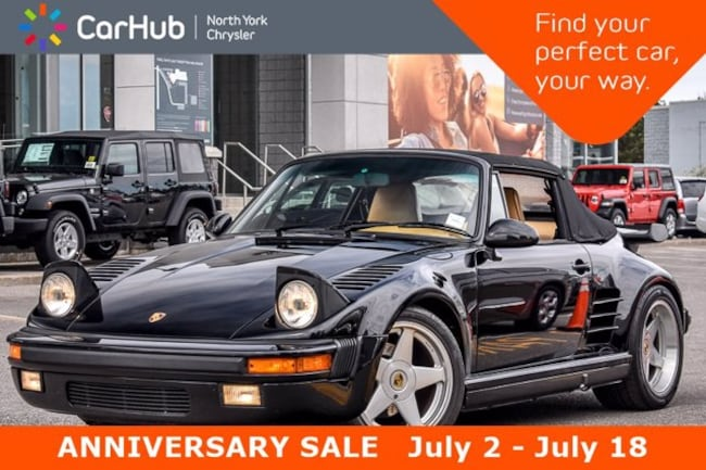 1988 Porsche 911 Turbo Slant Nose Cabriolet RUF FabSpeed exhaust 1 2dr Cabriolet