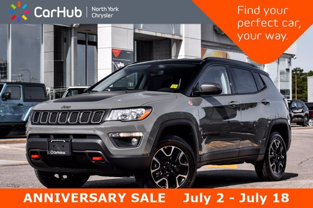 2020 Jeep Compass Trailhawk Popular Eq and Cold Weather Packages Bac SUV