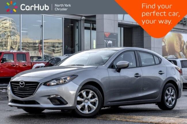 2016 Mazda Mazda3 GX|Backup_Cam|Keyless_Entry|AM/FM_Radio|Bluetooth| Sedan