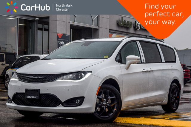 New 2019 Chrysler Pacifica New Car Limited  S.App.,Theatre,Adv.SafetyTec,Harm Van in Bolton, ON