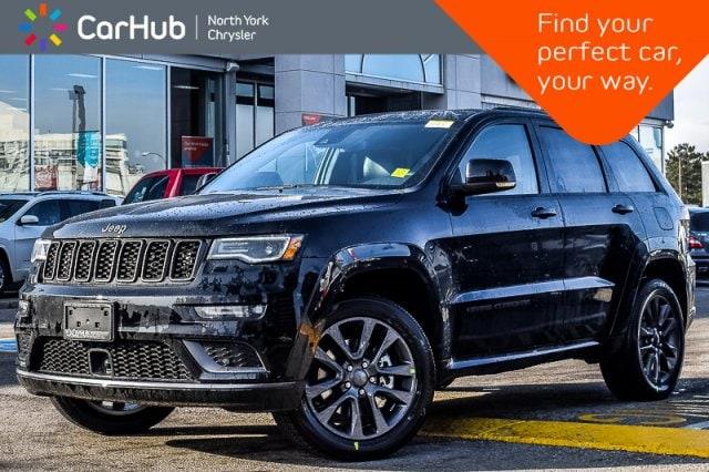 New 2019 Jeep Grand Cherokee New Car High Altitude 4x4|BrakeAsst|SatRadio|20All SUV in Bolton, ON