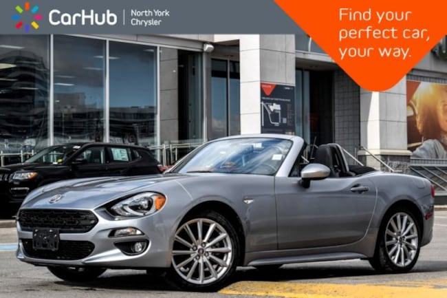 2017 FIAT 124 Spider Lusso|Manual|BOSE|Heat.Seats|Keyless_Go|Backup_Cam Convertible
