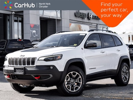 2021 Jeep Cherokee New Trailhawk 4x4 Panoramic Sunroof Heated Front S SUV