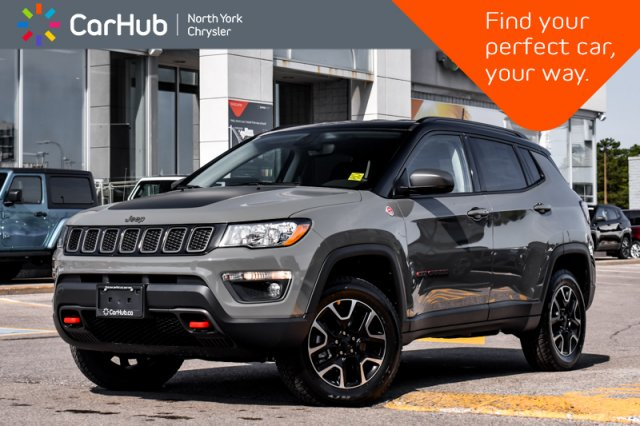 2020 Jeep Compass Trailhawk Popular Eq and Cold Weather Pkgs.Backup SUV