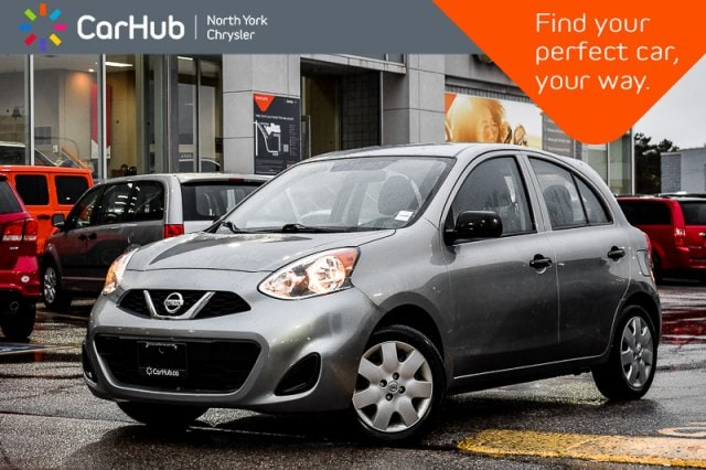 Used 2015 Nissan Micra |AM/FM_Radio|CD_Player|Manual_Trans|Aux-In_Connect Sedan in Bolton, ON
