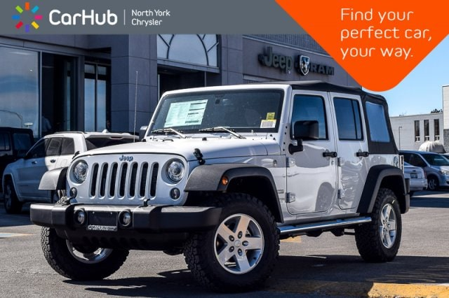 2018 Jeep Wrangler JK Unlimited New Car Sport 4x4|Cold Wthr.,LED,Pwr Convi,Connect SUV