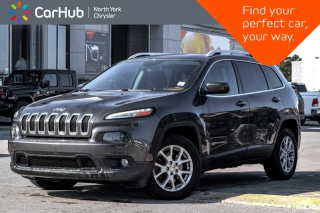 Used 2015 Jeep Cherokee North|Heated_Front_Seats|Nav|Remote_Start|Keyless_ SUV in Bolton, ON