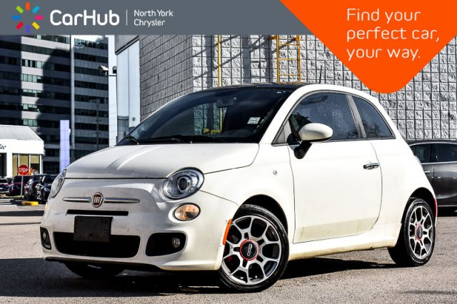 Used 2013 FIAT 500 Sport|Sunroof|Keyless_Go|5-Speed_Manual|16 Alloy W Coupe in Bolton, ON