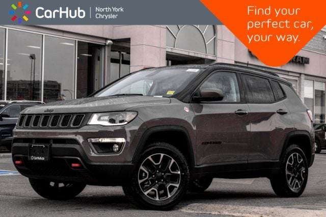 New 2019 Jeep Compass Trailhawk|New Car|4x4|Prem.Lighting.Pkg|Backup.Cam SUV in Bolton, ON