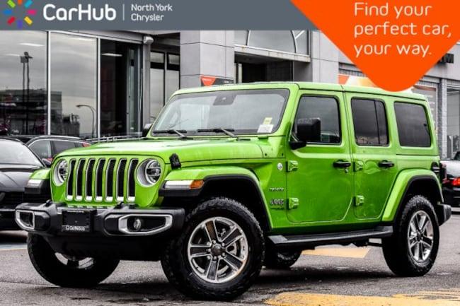 2019 Jeep Wrangler Unlimited New Car Sahara JL|DualTop,AdvSafety,Nav&SoundPkgs SUV
