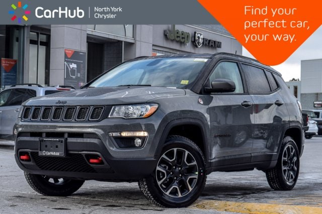 New 2019 Jeep Compass New Car Trailhawk AWD|Safe/Security,CldWthr Pkgs|1 SUV in Bolton, ON