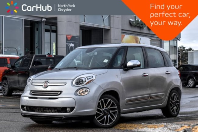 2014 FIAT 500L Lounge|Pano_Sunroof|BEATS.Audio|Backup.Cam|Heat.Fr Hatchback
